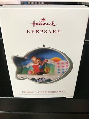 Hallmark 2018 Cookie Cutter Christmas series Ornament 7th in Series