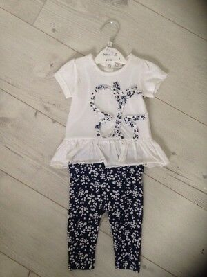 Babaluno Baby Girl Set . NEW .Reduced !! Baby 0-3 Months Set