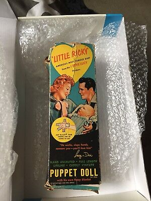 I Love Lucy 1953 little Ricky puppet