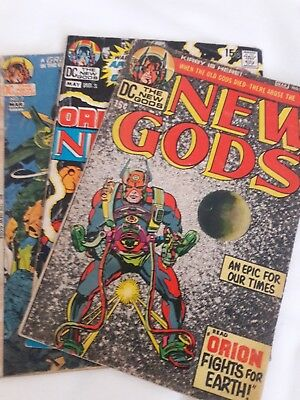 NEW GODS #1, #7, #2 ALL KEY Reader Lot. Affordable KIRBY Collection: MOVIE SOON!