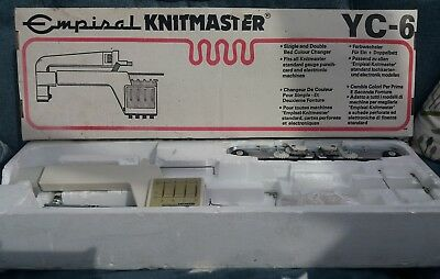 Empisal Knitmaster YC-6 Single and Double Bed Colour Changer - BOXED