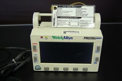 Welch Allyn Propaq Encore Multi-Parameter Patient Monitor - Used
