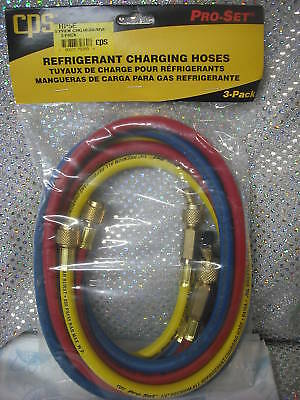 "Charging Hose Yellow Refrigeration CPS 36/"" #HS3Y"