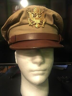 WWII US Army Air Force Summer Crusher Cap (7 Size)