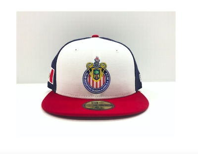 05bfddd77aa Liga Mexicana Chivas de Guadalajara New Era 59Fifty Liquid Chrome 3 Colors