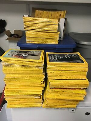 Lot Of 10 Random National Geographic Magazines From 50s-2000s