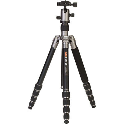 MeFOTO RoadTrip Aluminum Travel Tripod Kit - Titanium