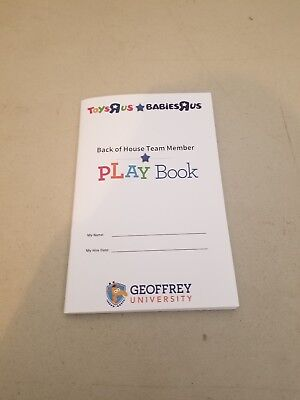 Toys R Us Employee Book