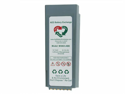 Re-celled battery for Philips™ HeartStart™ FR2/FR2+ AED 5 yr warranty M3863ABE
