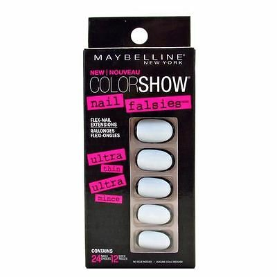 X 2 Maybelline Color Show Faux Ongles Adhesifs Souples X 24