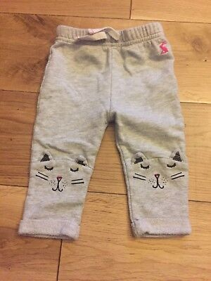 Joules Baby Girl Cat Trousers. 3-6 Months