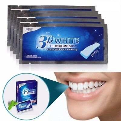 ★★ Blanchiment dentaire Dents Blanche Bande Teeth Whitening Strips ★★