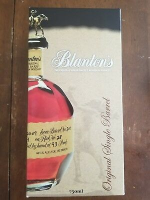 Blanton's Original Single Barrel Kentucky Straight Bourbon Whiskey RARE