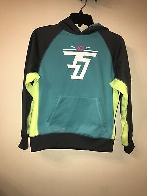 Nike Girls Large 14-16 Dri Fit  KO 3.0 Therma Fit Hoodie Sweatshirt Worn Once