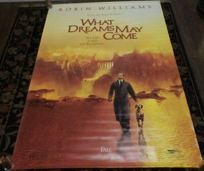 1998 What Dreams May Come Robin Williams Vinyl Movie Banner Poster