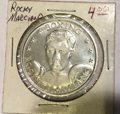 Large Token ROCKY MARCIANO BOXING