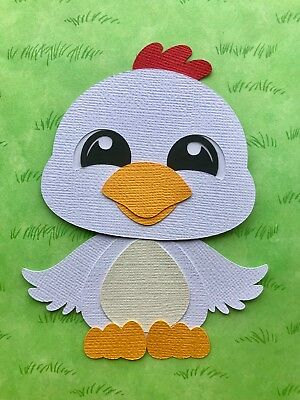 Fully assembled Chicken paper piecing / die cut