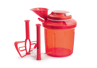 New Tupperware Turbo Extra Chef Chopper 1.35L  Whisk Funnel Christmas Xmas Set