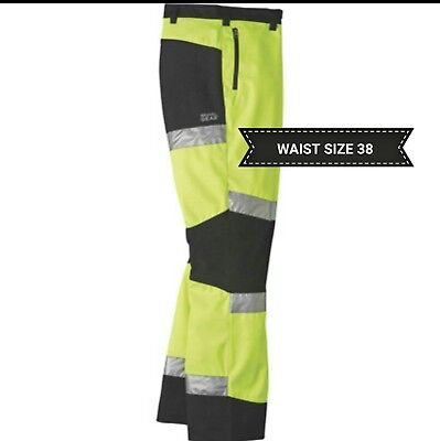 High Visibility Class E Waterproof Work Pants Reflective By Gravel Gear