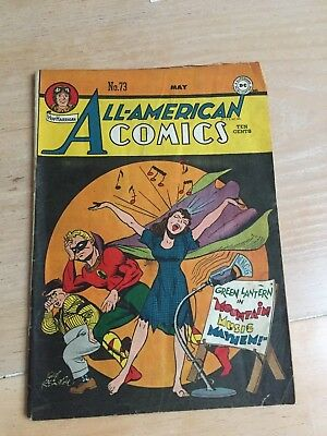 ALL AMERICAN COMICS #73, Alan Scott Green Lantern VG+