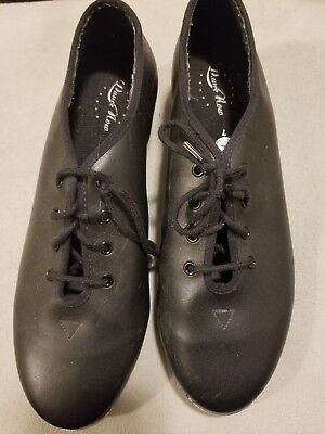 Size 7  Women's Dance Now Shoes With Stevens Stompers Buck Taps Installed