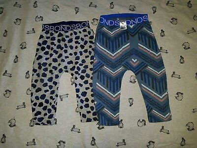 Bonds Leggings Sz 0 x2