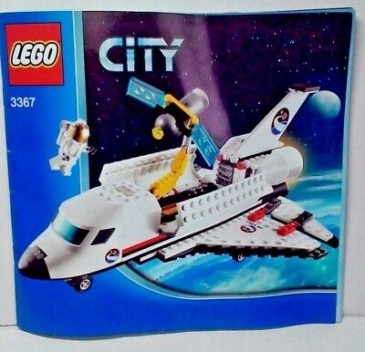 Lego City Space Port 3367 SPACE SHUTTLE with minifigure and instructions