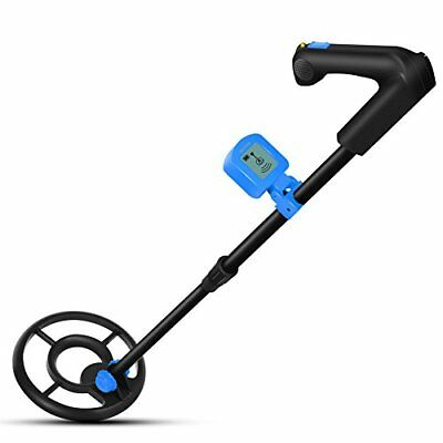 Easy To Operate Metal Detector For Kids And Beginners With Lcd Display, Light We