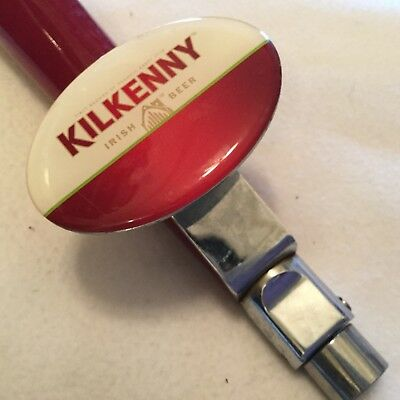 KELKENNY IRISH BEER -Stainless Steel Stout Faucet  In Good Used Condition