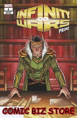 Infinity Wars Prime #1 (2018) 1St Printing Ron Lim Variant Cover Marvel Cover