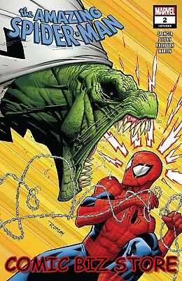Amazing Spider-Man #2 (2018) 1St Print Main Cover Bagged & Boarded Marvel