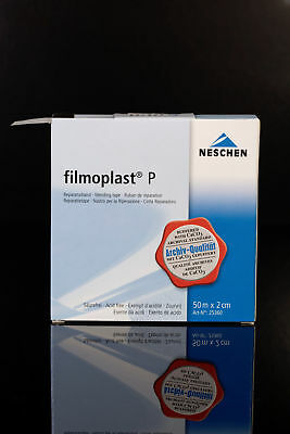 FILMOPLAST P - transparent archival book repair tape