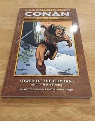 The Chronicles of Conan - Tower Of The Elephant - Volume 1 (used)