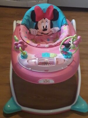 baby walker minnie mouse pink bright starts brand