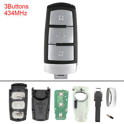 434MHz Car Keyless Entry Remote Key Fob 3C0959752BA fit for VW Passat B6 3C B7