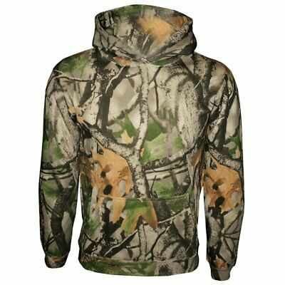Youth Camo Pullover Hooded Sweatshirt