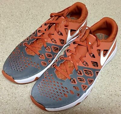 online retailer 5da94 37149 New Nike Mens Train Speed 4 Amp Texas Longhorns Shoes Size 10 844102-800 Ut