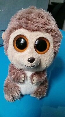 TY BEANIE BOOS - SPIKE the HEDGEHOG - NO HANG TAG  -  RETIRED 2011