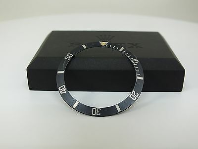 "Faded Rolex Submariner No Date Lünetten Einlage ""GREY *Bezel Insert* Tritium DOT"