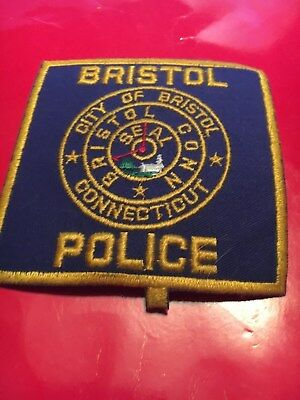 Bristol Connecticut  Police patch