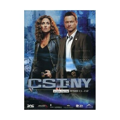 Cofanetto C.s.i. New York - Stagione 02 #01 (Eps 01-12) (3 Dvd) Serie Tv-19005