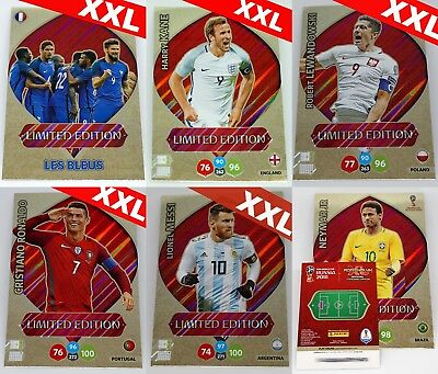 Adrenalyn XL FIFA World Cup Russia 2018 XXL Limited Edition - aussuchen/choose