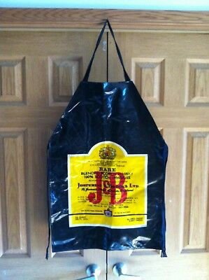 Vintage J&B Scotch Whiskey Apron