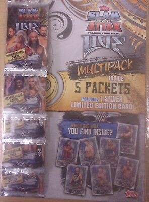 WWE ~ Slam Attax Live ~ Trading Card Game Multipack