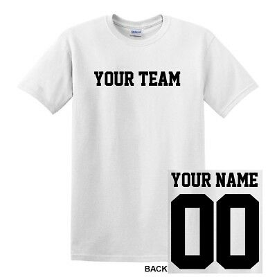 3fb69bfc0 CUSTOM T-Shirt JERSEY Personalized ANY COLOR Name Number Team Softball  Football