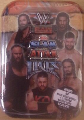 WWE ~ Slam Attax Live ~ Trading Card Game~ Collector's Mini Tin