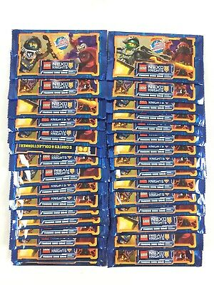 Lego Nexo Knights Trading Card Game Carte / Lot 60 Paquet Booster Neuf