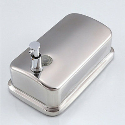Baoblaze Stainless Steel Soap Dispenser Liquid Pump Shampoo Container 500ml