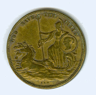 Model 2 Shillings - God save the Queen