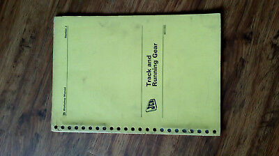 Jcb Workshop Manual 5C/6/6C/6D/7/7C Track & Running Gear. Used Condition.